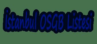 İstanbul OSGB Listesi
